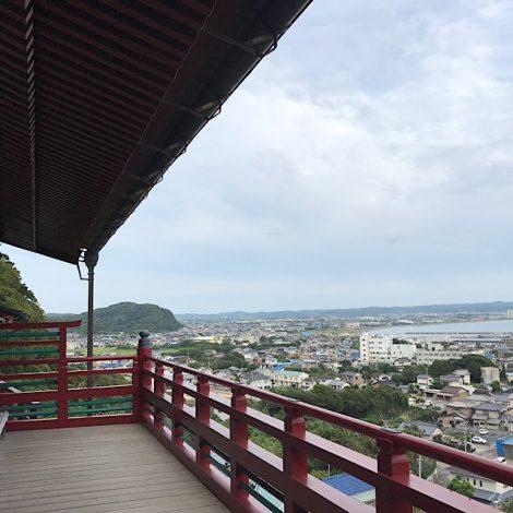 館山湾一望の絶景 崖観音までの往復10kmコース